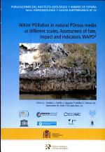 Water Pollution in Natural Porous Media at Different Scales