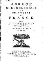 Abrégé chronologique de l'histoire de France: Volume4