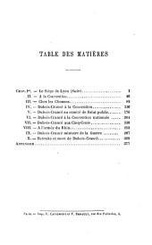 L'armée et la révolution, Dubois-Crancé (Edmond-Louis-Alexis) mousquetaire, constituant, conventionnel, général de division, ministre de la guerre, 1747-1814: Volume2