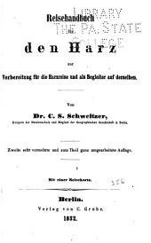 Reisehandbuch für den Harz: zur vorbereitung für Harzreise und als begleiter auf derselben