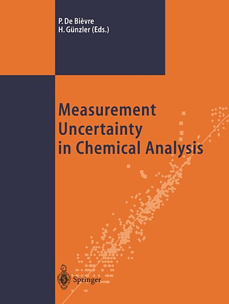 Download Measurement Uncertainty in Chemical Analysis Book
