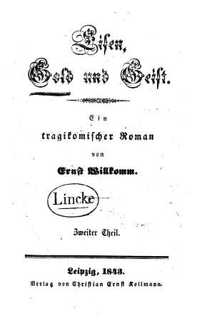 Eisen  Gold und Geist PDF