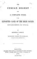 Indian Digest PDF