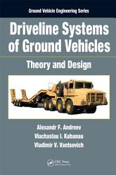 Driveline Systems of Ground Vehicles PDF