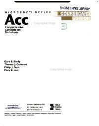 Microsoft Office Access 2003 PDF