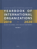 Yearbook of International Organizations 2019 2020  Volume 4 PDF
