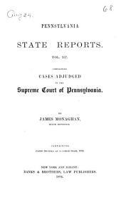 Pennsylvania State Reports: Volume 157