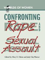Confronting Rape and Sexual Assault PDF
