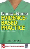 Nurse to Nurse Evidence Based Practice PDF