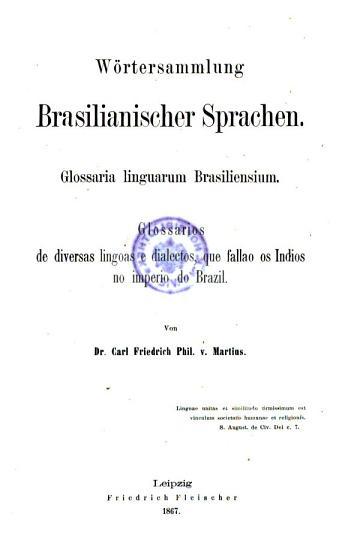 W  rtersammlung brasilianischer Sprachen PDF