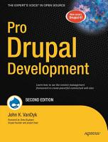 Pro Drupal Development PDF