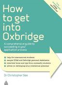 How to Get Into Oxbridge PDF
