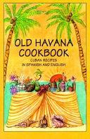Libro de Cocina de Habana la Vieja