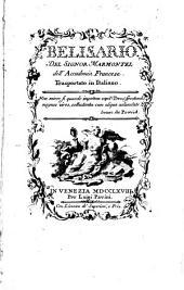 Belisario. Trasportato in italiano