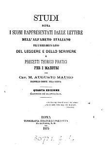 Studi sopra i suoni rappresentati dalle lettere dell  alfabeto italiano PDF