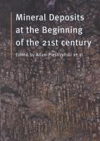 Mineral Deposits at the Beginning of the 21st Century PDF