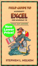 Field Guide to Microsoft Excel for Windows 95 PDF