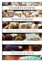 Understanding Behaviorism PDF