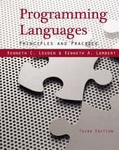 Programming Languages: Principles and Practices: Edition 3
