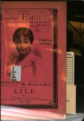 Lili: a comedie-vaudeville in three acts