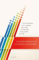 Taxing Profit in a Global Economy PDF