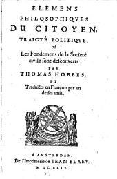 Elemens philosophiques du Citoyen