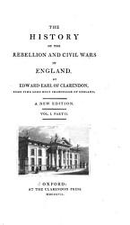 The History Of The Rebellion And Civil Wars In England Book PDF
