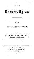Die Naturreligion PDF