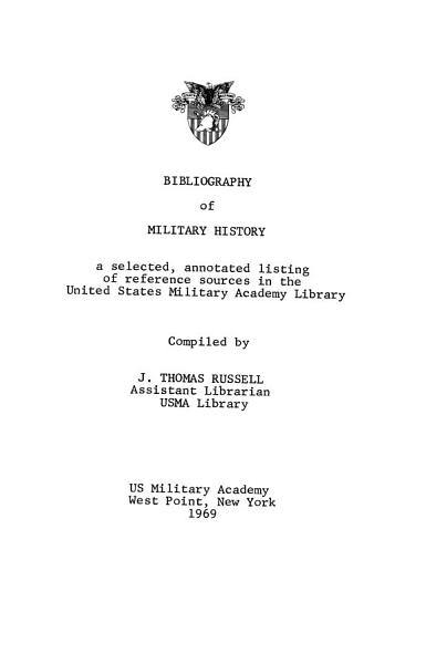 Download USMA Library Bulletin Book