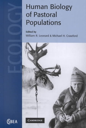 The Human Biology of Pastoral Populations PDF