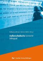 Au  erschulische Lernorte bilingual PDF
