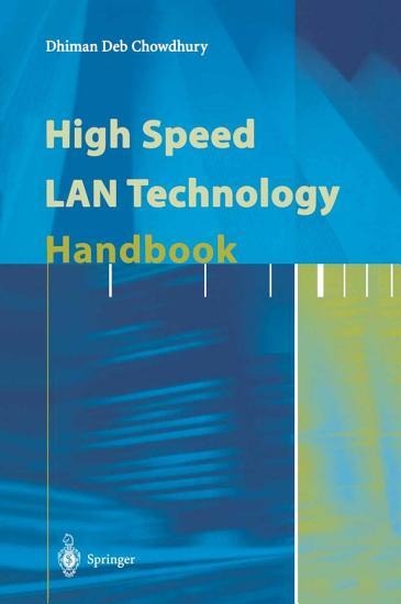 High Speed LAN Technology Handbook PDF