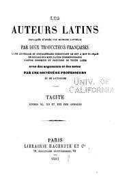 Tacite ... annales: Volume3