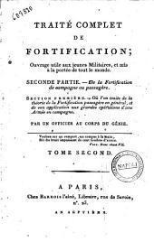 Traite complet de fortification; ouvrage utile aux jeunes militaires, et mis à la porté de tout le monde. ... Par m. Gaspard Noizet-Saint-Paul, ... Tome premier [-second]: De la fortification de campagne ou passegére
