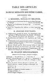 Revue encyclopédique, ou analyse raisonnée des productions les plus remarquables dans la politique, les sciences, l'industrie et les beaux-arts: recueil mensuel, Volume24