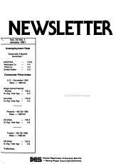 Arizona Labor Market Information Newsletter PDF