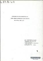 Guidelines for the Preparation of Labor Market Information Core Products for Fiscal Year 1977