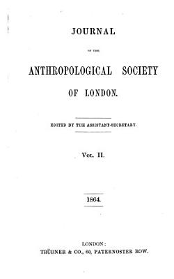 Journal of the Anthropological Society of London PDF