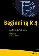 Beginning R 4 PDF