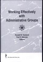 Working Effectively with Administrative Groups PDF