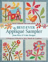 The Best Ever Applique Sampler from Piece O   Cake Designs PDF