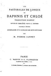 Les pastorales de Longus, ou, Daphnis et Chloé