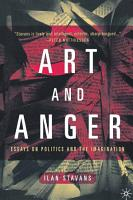 Art and Anger PDF