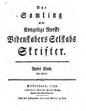 Skrifter - Det Kongelige Norske Videnskabers Selskab: Volum 2