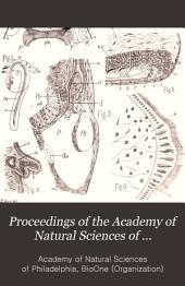 Proceedings of the Academy of Natural Sciences of Philadelphia: Volume 35