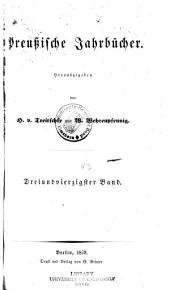 Preussische Jahrbücher: Band 43