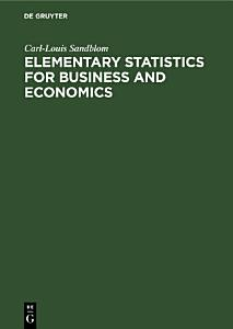 Elementary Statistics for Business and Economics PDF