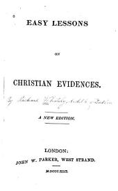 Easy Lessons on Christian Evidences