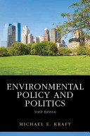 Environmental Policy and Politics PDF