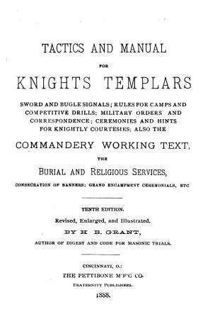 Tactics and Manual for Knights Templars PDF